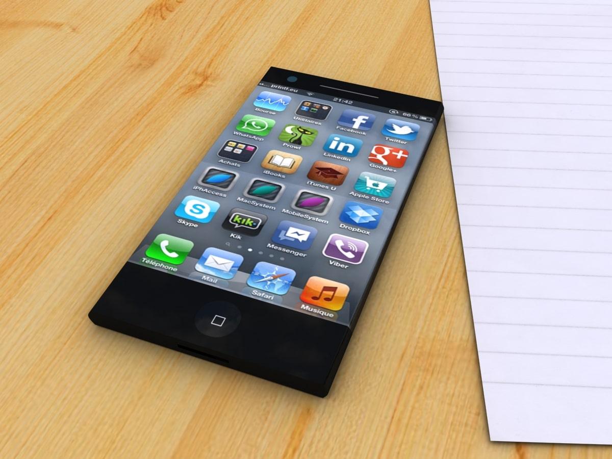 Un téléphone flexible Apple