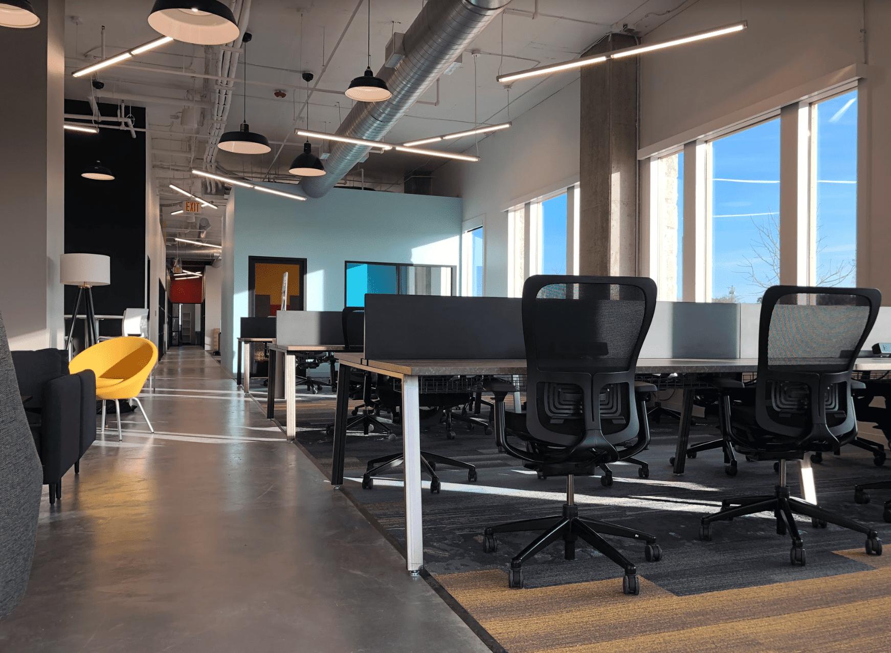 Travailler dans un espace de coworking
